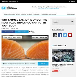 Why Farmed Salmon Is One Of The Most Toxic Things You Can Put In Your Body