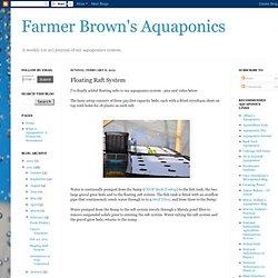 Floating Raft System