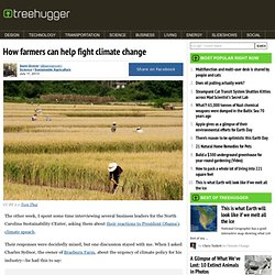 How farmers can help fight climate change