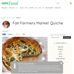 Fall Farmers Market Quiche