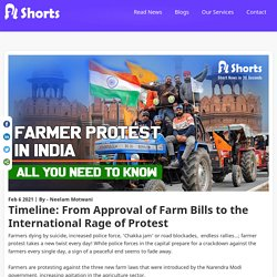 From Approval of Farm Bills to the International Rage of Protest
