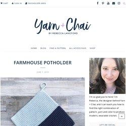 Farmhouse Potholder