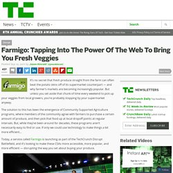 Farmigo: Tapping Into The Power Of The Web To Bring You Fresh Veggies