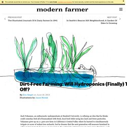 Dirt-Free Farming: Will Hydroponics (Finally) Take Off?