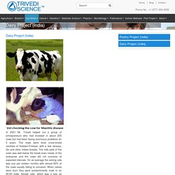 Dairy Farming and Projects in India
