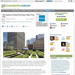 The Impact of Urban Farming in New York City
