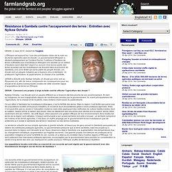 Résistance à Gambela contre l'accaparement des terres : Entretien avec Nyikaw Ochalla