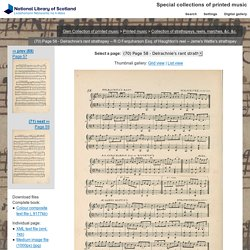 Jame's Wattie's strathspey - Glen Collection of printed music > Printed music > Collection of strathspeys, reels, marches, &c. &c. - Special collections of printed m