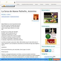 La farsa de Maese Pathelin, Anónimo