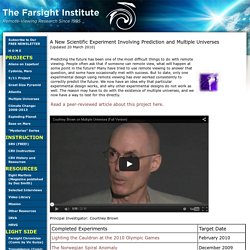 The Farsight Institute | Multiple Universes Project