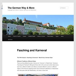 Fasching and Karneval