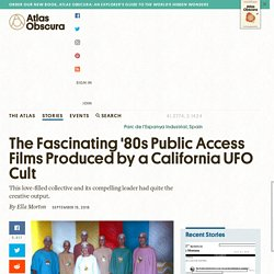 The Fascinating '80s Public Access Films Produced by a California UFO Cult