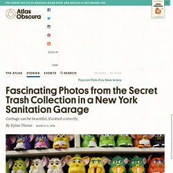 Fascinating Photos from the Secret Trash Collection in a New York Sanitation Garage