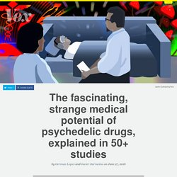 Why psychedelic drugs might help cure anxiety and addiction, explained in 50+ studies