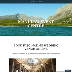 Book fascinating wedding venue online