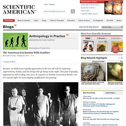 The American Fascination With Zombies | Anthropology in Practice