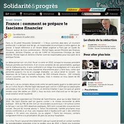 France: comment se prépare le fascisme financier