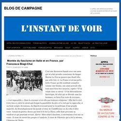 Montée du fascisme en Italie et en France, parFrancesca Biagi-Chai