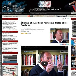 Étienne Chouard sur l'extrême droite et le fascisme