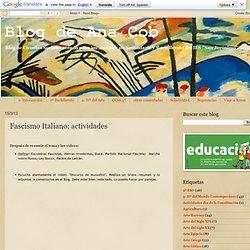 Fascismo Italiano: actividades