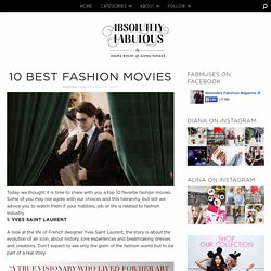 10 BEST FASHION MOVIES
