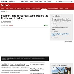 Fashion: The accountant who created the first book of fashion