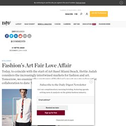 Fashion's Art Fair Love Affair