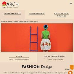 BA Fashion Design Bachelor Degree