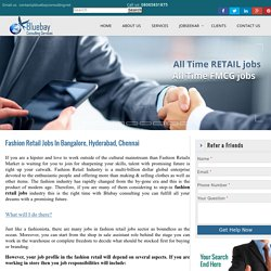 Fashion Retail Jobs
