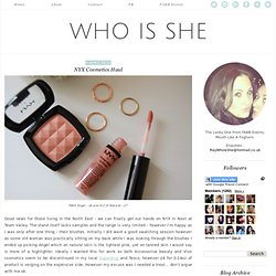 who is she | uk lifestyle blog
