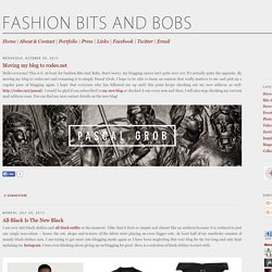 Fashion Bits And Bobs