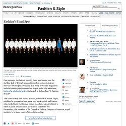 Fashion's Blind Spot