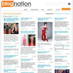 Top Fashion Blogs: Trends from Around the Web