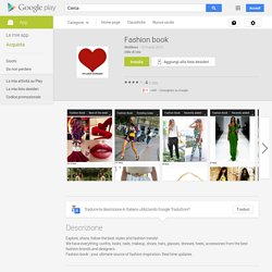 Fashion book - App Android su Google Play