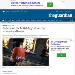 Fashion on the British high street: the winners and losers