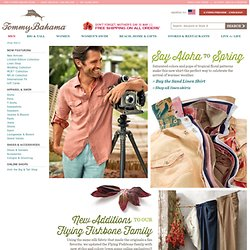 Men's Apparel & Accessories - Tommy Bahama