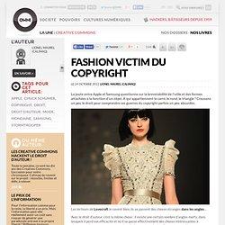 Fashion victim du copyright