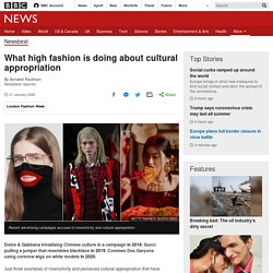 What high fashion is doing about cultural appropriation