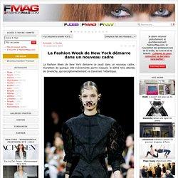 La Fashion Week de New York démarre dans un nouveau cadre - Actualité : Textile (#568834)