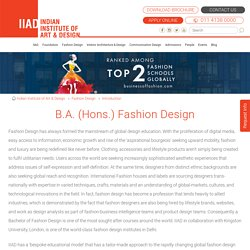 Fashion Design Course, fashion design colleges, IIAD