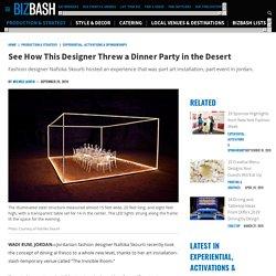 Fashion Designer Nafsika Skourti's the Invisible Room in the Desert
