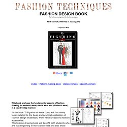 Fashion design book - The fashion drawing book for fashion designer
