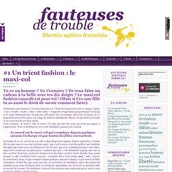 #1 Un tricot fashion : le maxi-col