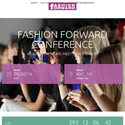 Fashion Forward Conference |