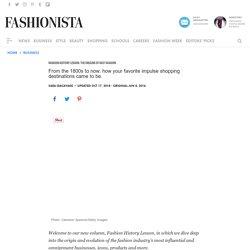 Fashion History Lesson: The Origins of Fast Fashion