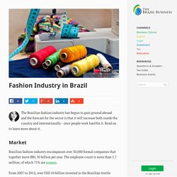 Fashion Industry in Brazil