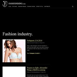 Fashion Industry blog