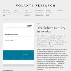 Volante Research - A wiser & more fun world