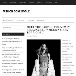 Fashion Gone Rogue // The Latest in Fashion Editorials and Campaigns