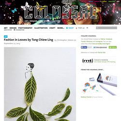 Fashion in Leaves by Tang Chiew Ling